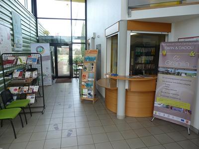 Le hall de Granilia à Gaillac